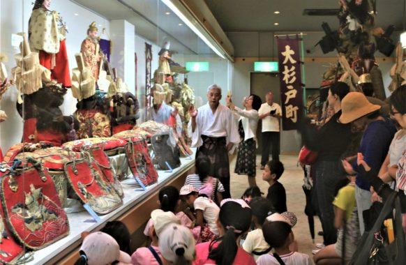 180807飾り馬具の説明-楠田さん宝物殿6