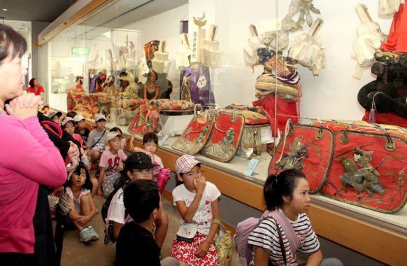 180807飾り馬具の展示-宝物館7